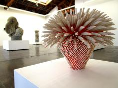 Work by Zemer Peled at Mark Moore Gallery, Untitled, Photo Credit: Patrick Quinn
