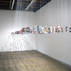 Tm Gratkowski. 101 Bad Words. Walter Maciel Gallery. Photo credit Kristine Schomaker