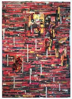 Tm Gratkowski. Who's the Enemy. Walter Maciel Gallery. Photo courtesy Walter Maciel Gallery