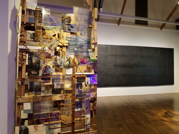 WORK over School exhibition at the Craft and Folk Art Museum through January 8th