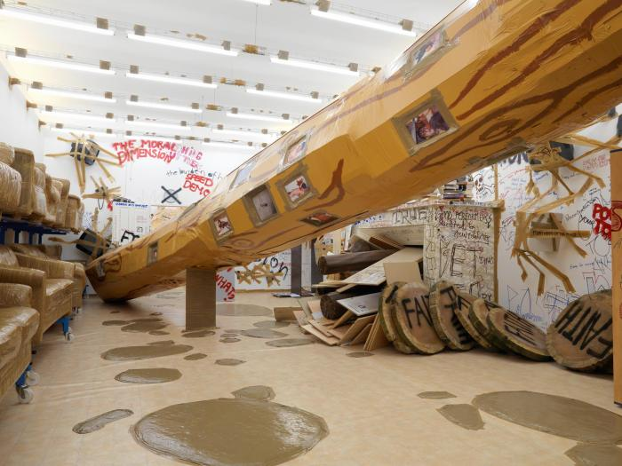 Thomas Hirschhorn: Stand-alone at The Mistake Room To Dec 17th