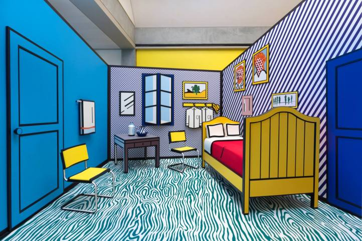 Pop for the People: Roy Lichtenstein in L.A. at the Skirball Cultural Center to March 12th
