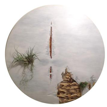 Michael Giancristiano. Organic Integration: Aline Mare & Michael Giancristiano at Jill Joy Gallery