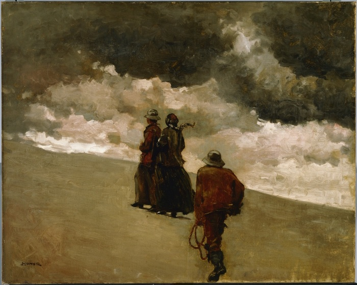 Winslow Homer (1836-1910). To the Rescue, 1886 Oil on canvas. Photo Courtesy Orange County Museum of Art
