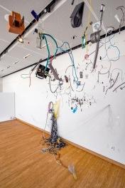 Chenhung Chen. Crossings at Crafton Hills College Art Gallery. Photo Credit Panic Studio LA..