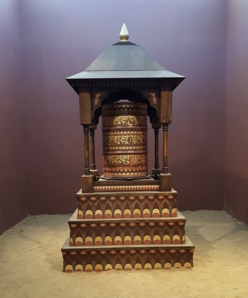 "CRYPTIK ""Prayer Wheel"" Nexus at the Brand Library. Photo Credit Christine Rasmussen"