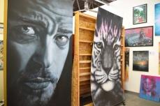 Ernie Steiner. Inglewood Open Studios. Photo Credit Kristine Schomaker