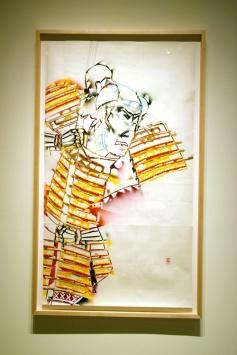 Gajin Fujita- Photo by Kristine Schomaker at L.A. Louver Gallery.