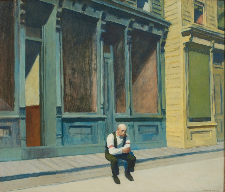 Edward Hopper (1882-1967) Sunday, 1926. Photo Courtesy Orange County Museum of Art