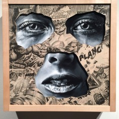 LA CAGE ENTRE HIER ET TOUJOURS, Sandra Chevrier ©2016 Thinkspace Gallery, Photo credit- JulieFaith, All rights reserved.