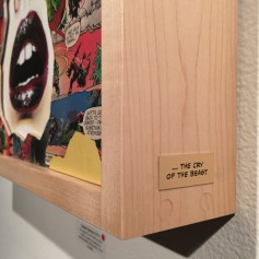 LA CAGE ET LE CRI DE LA BÉTE,Sandra Chevrier ©2016 Thinkspace Gallery, Photo credit- JulieFaith, All rights reserved.