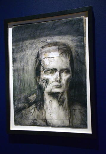 Frank Auerbach. London Calling. The Getty Museum. Photo credit Kristine Schomaker All rights reserved.