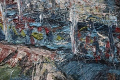 Leon Kossoff. London Calling. The Getty Museum. Photo credit Kristine Schomaker All rights reserved.