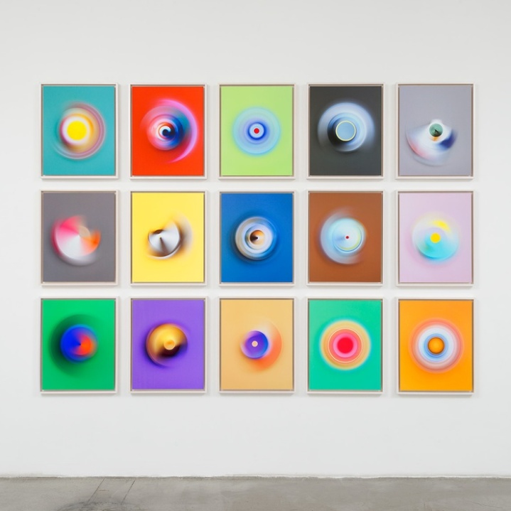 Jessica Eaton. M+B Gallery - Photo Courtesy M+B Gallery