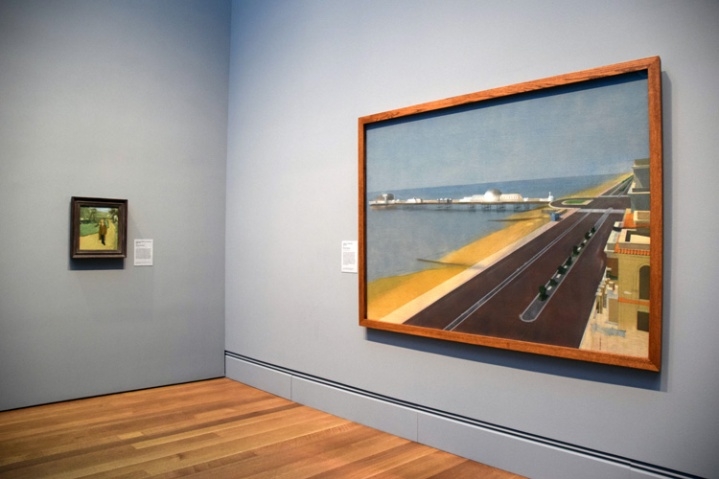 Michael Andrews. London Calling. The Getty Museum. Photo credit Kristine Schomaker All rights reserved.