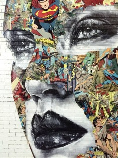 Mural Detail, LA CAGE TOUJOURS,Sandra Chevrier ©2016 Thinkspace _ Branded Arts, Photo credit- JulieFaith, All rights reserved.