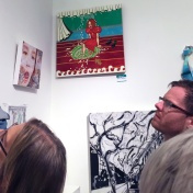 Bibi Davidson. Final MAS Attack at the Torrance Art Museum. Photo Credit Diane Williams