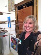 Susan Amorde. Final MAS Attack at the Torrance Art Museum. Photo Credit Diane Williams