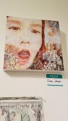 Elena Johnson. Final MAS Attack at the Torrance Art Museum. Photo Credit Jacqueline Bell Johnson