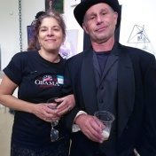 Jane and Todd Szabo. Final MAS Attack at the Torrance Art Museum. Photo Credit Kristine Schomaker