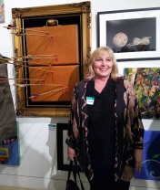 Susan Amorde. Final MAS Attack at the Torrance Art Museum. Photo Credit Kristine Schomaker