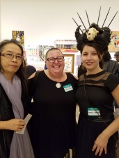 Chenhung Chen, Kristine Schomaker, Stephanie Sherwood. Final MAS Attack at the Torrance Art Museum. Photo Credit Kristine Schomaker