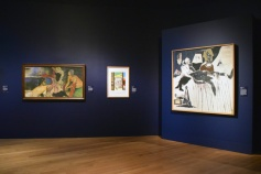 R.B. Kitaj. London Calling. The Getty Museum. Photo credit Kristine Schomaker All rights reserved.
