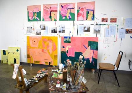 Tahnee Lonsdale. Inglewood Open Studios. Photo Credit Kristine Schomaker