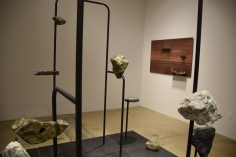 "Ishmael Randall Weeks ""Constructive Resistance"" at Steve Turner Gallery Photo Credit Kristine Schomaker"