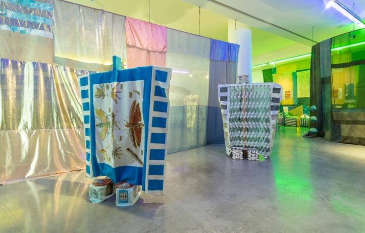 Tamara Henderson, Seasons End: Panting Healer (2016). Exhibition view at REDCAT, Los Angeles. Photo: Brica Wilcox
