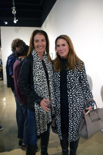 Therese Conte and Kelly Brumfield-Woods. 2016 Southern California/Baja Biennialat San Diego Art InstitutePhoto Credit Kristine Schomaker