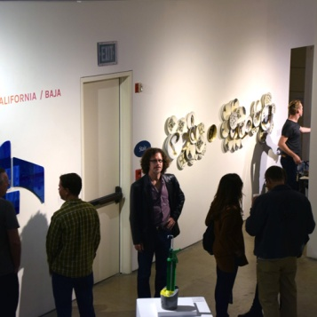 Beliz Iristay. 2016 Southern California/Baja Biennial at San Diego Art Institute Photo Credit Kristine Schomaker