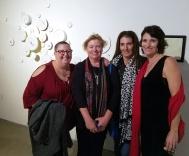Kristine Schomaker, Sarah Azari, Therese Conte and Terry Arena. 2016 Southern California/Baja Biennialat San Diego Art InstitutePhoto Credit Kristine Schomaker