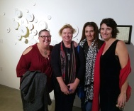 Kristine Schomaker, Sarah Azari, Therese Conte and Terry Arena. 2016 Southern California/Baja Biennialat San Diego Art InstitutePhoto Credit Kristine Schomaker