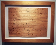 Edward Ruscha / 'Black Ants'. Photo Credit Patrick Quinn