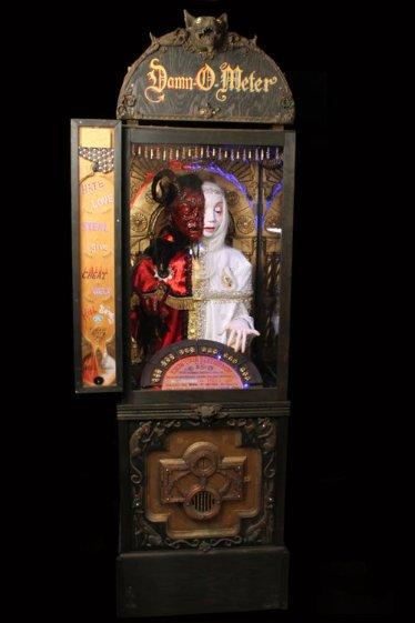 """""""Damn-O-Meter"""" By Elizabeth McGrath and Brian Poor Photo Courtesy of Gregorio Escalante Gallery"""