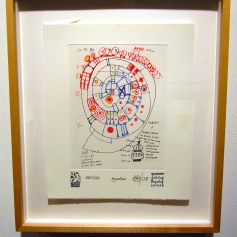 Friedensreich Hundertwasser/'Doodles'. Photo Credit Patrick Quinn