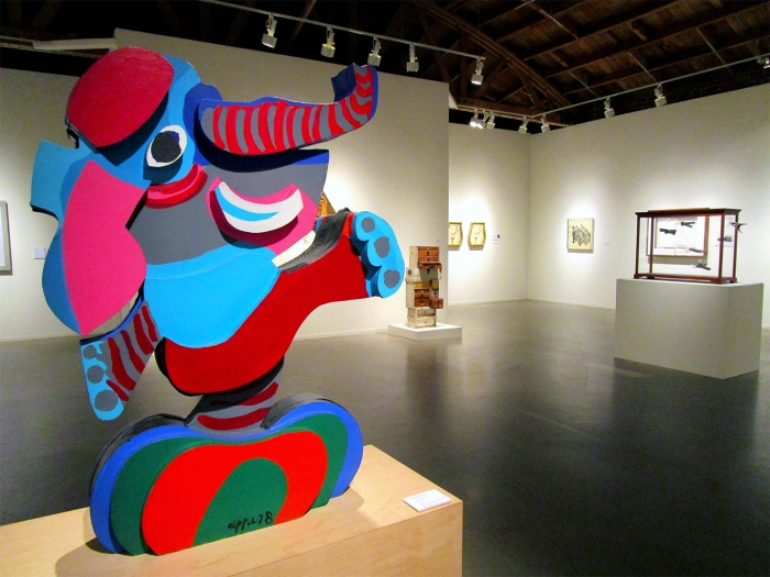 Karel Appel / 'Elephant Dansant'. Photo Credit Patrick Quinn
