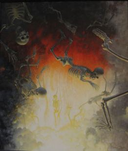 """Hell"" By Peter Zokosky Photo Courtesy of Gregorio Escalante Gallery"