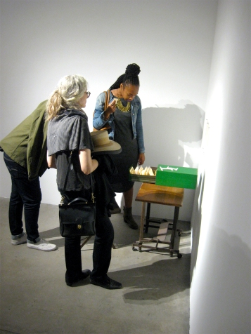"""Margaret Noble """"Index Of Fear"""" """"S/Election Show"""" Los Angeles Municipal Art Gallery Photo Credit Patrick Quinn"""