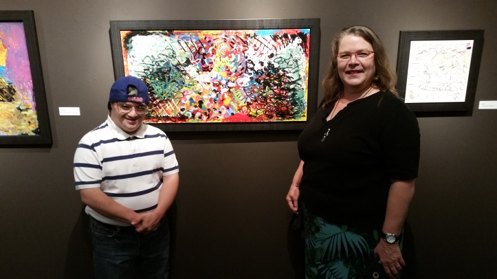 Marvin Castillo and Cheryl Walker Rhythmic Bond Exhibition at Muzeo Photo Credit Lisa Lo Russo