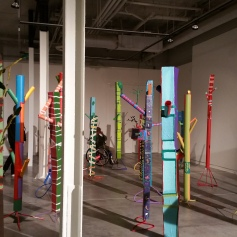"""Pulling The Forest Along The Road"" Grand Central Art Center Installation View Photo Credit Lisa Lo Russo"