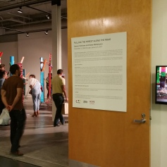 """Pulling The Forest Along The Road"" Grand Central Art Center Opening Night Photo Credit Lisa Lo Russo"