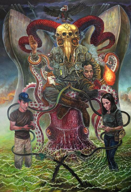 """""""The Devil"""" By David Van Gough Photo Courtesy of Gregorio Escalante Gallery"""