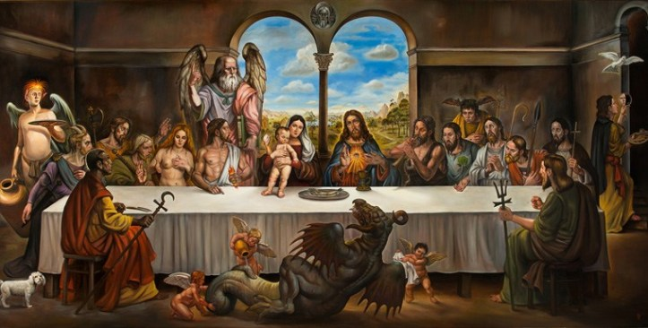 """""""The Last Supper"""" By Christopher Ulrich Photo Courtesy of Gregorio Escalante Gallery"""