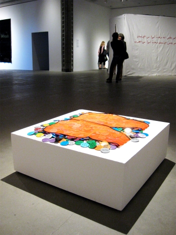 """Dorit Cypis """"To The Population"""" """"S/Election Show"""" Los Angeles Municipal Art Gallery Photo Credit Patrick Quinn"""