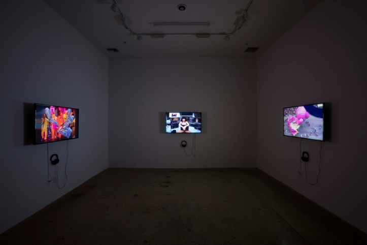 "Jacob Ciocci, Lu Yang, Bogosi Sekhukhuni and Eric Wedgewood's ""Full Disclosure"" at Steve Turner Gallery Photo Courtesy of Steve Turner Gallery"