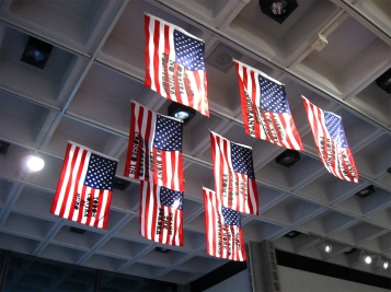 """Monica Rodriguez """"We Are America"""" """"S/Election Show"""" Los Angeles Municipal Art Gallery Photo Credit Patrick Quinn"""