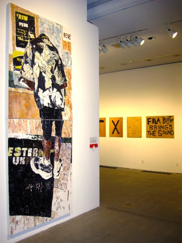 """Andy Robert """"Western Union: Bless Their Little Hearts"""" """"S/Election Show"""" Los Angeles Municipal Art Gallery Photo Credit Patrick Quinn"""