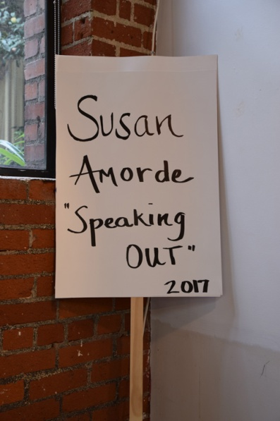 "Susan Amorde ""Speaking Out"" Shoebox Projects Photo Credit Kristine Schomaker"